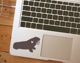 SUMMER SALE! Walrus Sticker Walrus Decal Walrus Silhouette Car Laptop Vinyl Decal Sticker