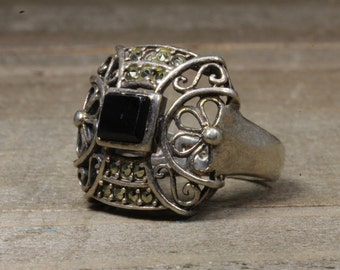 Used Sterling Silver Costume/Statement Ring