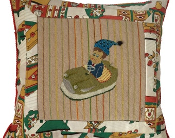 Kids Tapestry Cushion (AUTODROM BOY)
