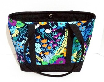 Sale! Concealed Carry Purse with Vera Bradley Midnight Blues
