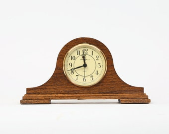 Vintage Howard Miller Mantel Clock, Quartz, Japan, Model 612-354