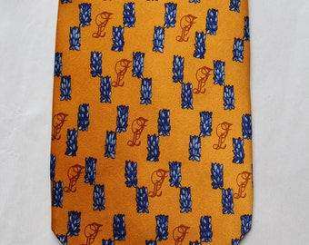 Tie in silk LOUIS FERAUD  Mint condition