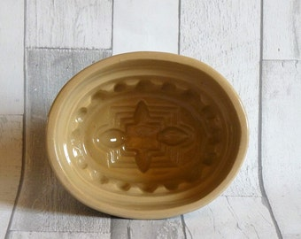 Antique Lovatts Langley Stoneware Jelly Mould
