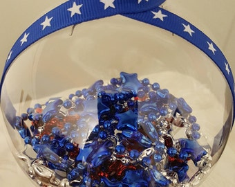 Memorial day/ July 4th/ Labor Day/ Patriotic Decoration Ornament