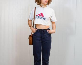 Vintage 90s Escada jeans / Highwaist trousers / Vintage Escada mom jeans /  Boyfriend jeans / Nineties jeans / Vintage denim / Size 27/XS