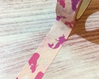 Disney Princess Washi Tape - Pink