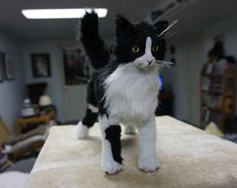 OOAK Poseable Kitty Art Doll