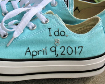 Wedding Shoes, SHOES NOT INCLUDED, Bride Wedding Shoes, Bride Converse, Wedding Converse, Wedding Sneakers, Custom Converse, Wedding Chucks