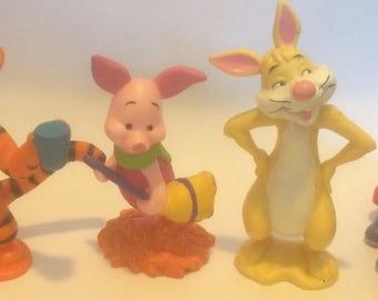 Winnie the Pooh's Friends (Eeyore, Piglet, Rabbit, Tigger) ~ Applause ~ PVC