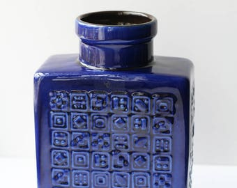 Blue Manila West Germany Vase Carstens M 15/18
