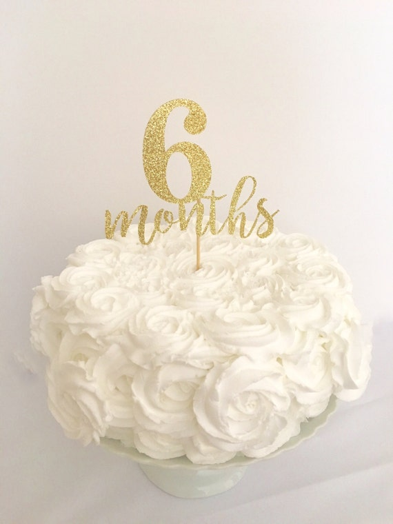 Gold Glitter Birthday Cake Topper Image Inspiration of Cake and