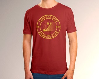 """The Flash Inspired """"Central City Running Club"""" Men's T-Shirt"""
