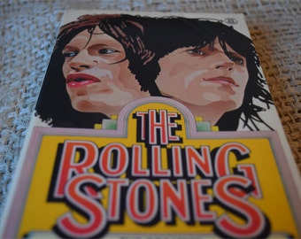The Rolling Stones. Edited by David Dalton. Paperback Book 1975 with Exclusive Photographs