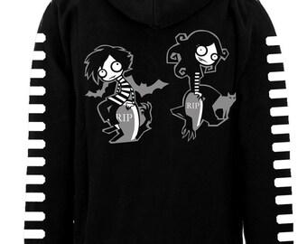 VampireFreaks Graveyard Freaks Zipper Hoodie