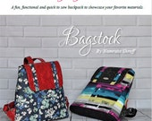 The Everyday Backpack - Bagstock Designs, PDF sewing pattern