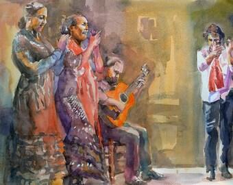 Flamenco harmony