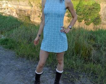 Space Cadet Mini Dress - Bamboo