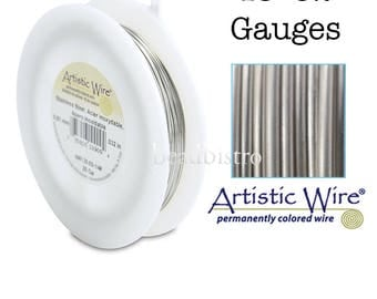 XL 1/4lb - STAINLESS STEEL Artistic Wire - 1/4lb Spool Craft Wire