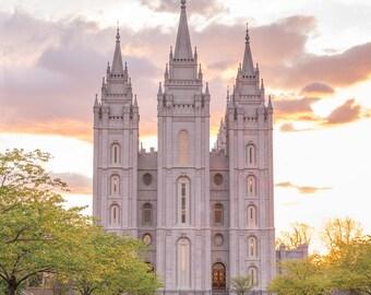 Salt Lake Temple Art