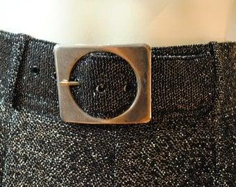 Belted Sparkle Skirt