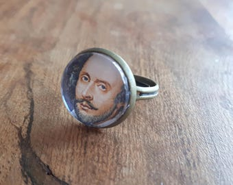 William Shakespeare - Adjustable Ring