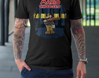 Mario Chooses  T-Shirt | Unisex - Women |