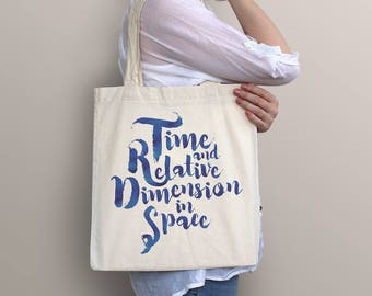 Doctor Who Tote Bag - TARDIS | Sci-fi, science fiction, geek, nerd, dr. who, television, tv