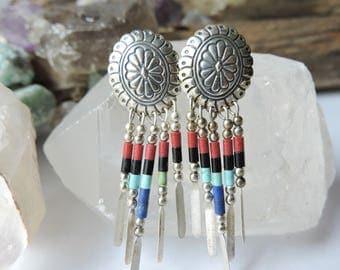 Native American Style Earrings - Pierced Post