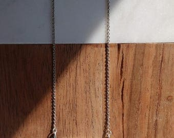 Brise Necklace - Porcelain and sterling silver