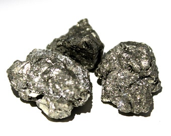 Raw Pyrite Crystal, Pyrite Nugget, Fools Gold, Healing Crystal, Unpolished Pyrite, Protection Stone, Unique Gift Ideas For Brother, Lot P41