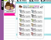 Feeling Crafty Planner Stickers | Fits Most Planners | Planner Stickers | Craft Stickers | 129