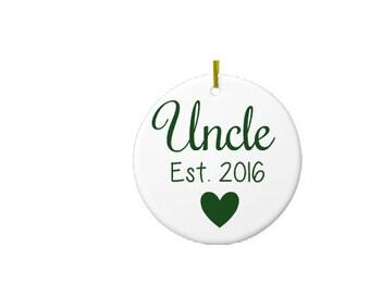 Uncle ornament  Etsy
