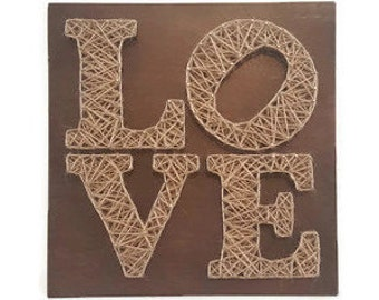 Love Living Room Decor - Love Wood Sign - Living Room Art - Rustic Living Room Decor - Living Room Sign - Wall Art for Living Room