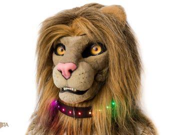 "Nylon LED Fursuit collar 1.5"" - Furrista"