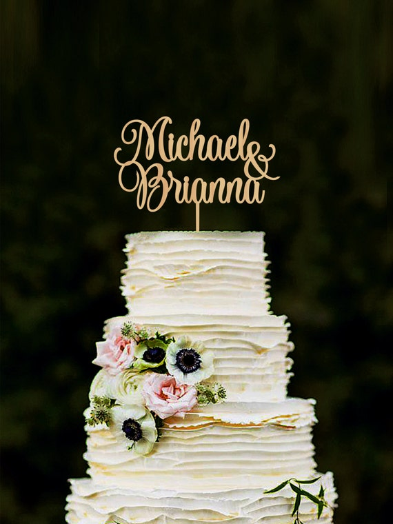 wedding cake toppers personalised wedding cake topper personalized names cake topper custom cake 8837