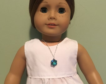 Frozen Ocean - Necklace for 18 inch Dolls such as American Girl