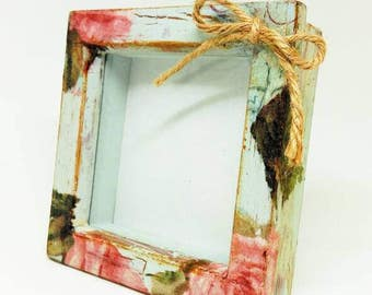 Distressed Shabby Picture Frame
