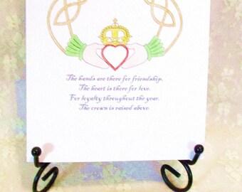 Claddagh Card