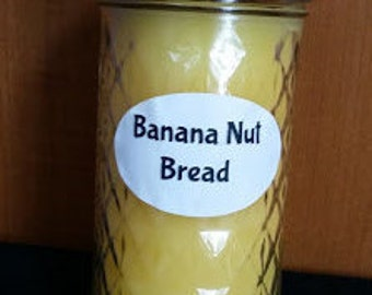 Banana Nut Bread 12 oz. Candle
