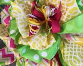 Easter bow, Spring bow, flagpole bow, birthday bow, wreath bow, baby bow, mailbox bow, Wedding bow, graduation bow, prom bow,Anniversary bow