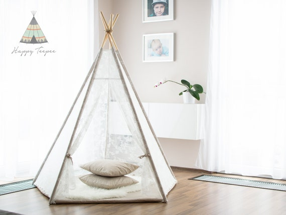 tipi romantique ensemble de tipi et tipi indien mat fait. Black Bedroom Furniture Sets. Home Design Ideas