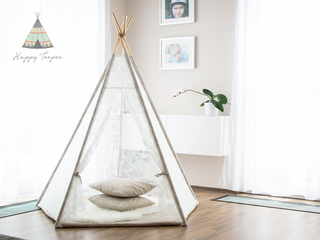 tipi romantique ensemble de tipi et tipi indien mat fait. Black Bedroom Furniture Sets. Home Design Ideas