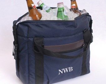 Personalized Soft-Sided Cooler - Monogrammed Cooler Bag - Insulated Bag - Gifts for Him - Insulated Lunch Bag - Picnic bag