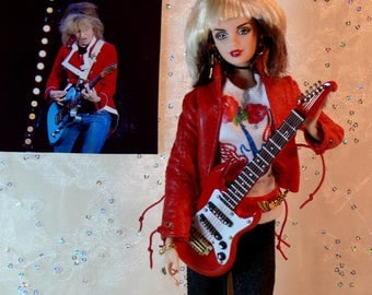 Chrissie Hynde CUSTOM Doll 24 Karat PRETENDERS Stevie Nicks TOUR Limited Edition