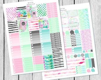 Planner Addict    Planner Sticker Printable / Sticker Printable / Printable Planner Stickers / Weekly Planner Sticker Kit