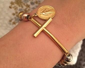 Cross bracelet, women bracelets