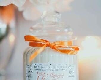 MANGUE PAPAYE - Bougie parfumée en cire de soja - bonbonnière