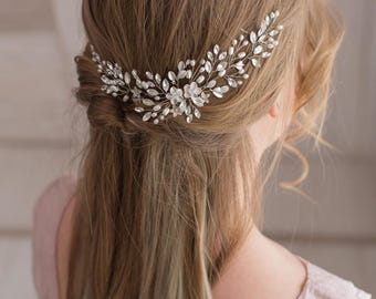 Bridal hair vine Bridal hair piece  Wedding headpiece Pearl hair piece Bridal headpiece Wedding hair vine Bridal hair accessories
