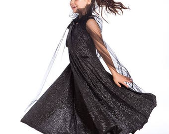 halloween costumes night queen costume black princess kids costumes girls halloween costume