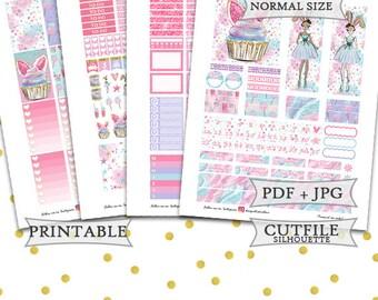 Candy Sticker kit/Happy Planner Stickers/Printable Easter Planner Stickers/April Monthly Planner Stickers/Printable Happy Planner Stickers